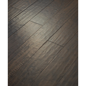 Shop Style Selections 5 In W Prefinished Hickory Locking Hardwood Flooring Java At