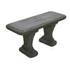 14-in W x 36-in L Concrete Patio Bench