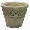 15-in x 12-in Desert Sand Concrete Planter