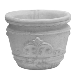 12-in H x 15-in W x 11-in D Ap Concrete Outdoor Planter