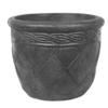 14-in H x 18-in W x 13-in D Ap Concrete Outdoor Pot