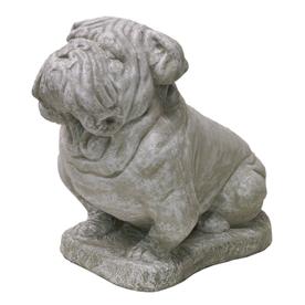14-in Bulldog Garden Statue