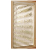 Style Selections 39-in W x 64-in L White Faux Wood 2-in Slat Room Darkening Plantation Blinds