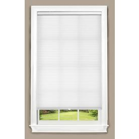 allen + roth 46-in W x 64-in L White Cellular Shade