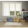 allen + roth White Light Filtering Cordless Polyester Cellular Shade (Common 58-in; Actual: 58-in x 64-in)