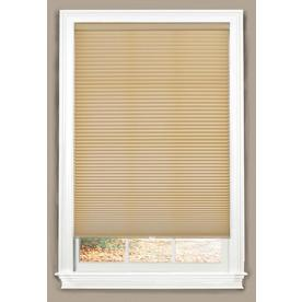 allen + roth Linen Light Filtering Cordless Polyester Cellular Shade (Common 27-in; Actual: 27-in x 72-in)