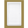 Style Selections 2-in White Vinyl Room Darkening Horizontal Blinds (Common 58-in; Actual: 57.5-in x 64-in)