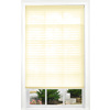 allen + roth 27-in W x 72-in L Ecru Light Filtering Pleated Shade