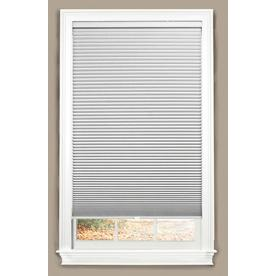 allen + roth White Blackout Cordless Polyester Cellular Shade (Common 35-in; Actual: 35-in x 64-in)