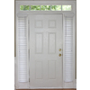 Style Selections 2-in Faux Wood Room Darkening Plantation Blinds
