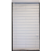 Style Selections White Faux Wood 2-in Slat Room Darkening Window Plantation Blinds (Common Blind Width: 35-in; Actual Blind Size: 34.5-in x 64-in)
