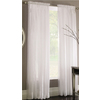 Style Selections Chloe 84-in L Light Filtering Solid Rod Pocket Window Sheer Curtain