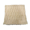 allen + roth Ivory 60-in L x 50-in W Polyester Throw