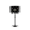 Ok 31-in Polished Chrome Touch On/Off Indoor Table Lamp with Acrylic Shade