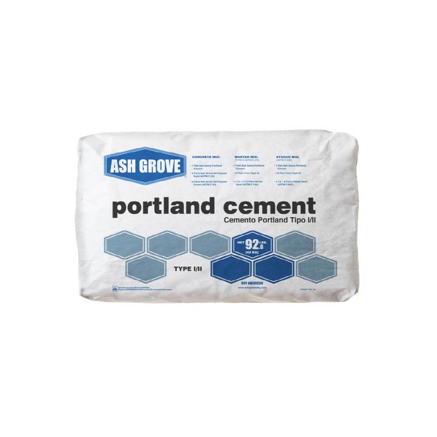 Portland Cement Lowes : Shop ash grove lb ii portland cement at lowes