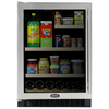 MARVEL 5.8 cu ft Compact Refrigerator (Stainless Steel)