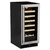 MARVEL 23-Bottle Stainless Steel Built-In/Freestanding Wine Chiller