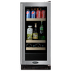 MARVEL 3 cu ft Black Undercounter Beverage Center