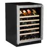 MARVEL 45-Bottle Stainless Steel Built-In/Freestanding Wine Chiller
