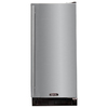 MARVEL 15-in 30 Lbs. Capacity Freestanding/Built-In Ice Maker (Black Cabinet and Stainless Steel Door)