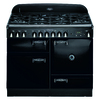 AGA Legacy 44-in 6-Burner 2.4-cu ft/2.4-cu ft Double Oven Convection Dual Fuel Range (Black)