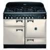AGA Legacy 44-in 6-Burner 2.4-cu ft/2.4-cu ft Double Oven Convection Dual Fuel Range (Ivory)