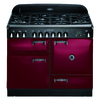 AGA Legacy 44-in 6-Burner 2.4-cu ft/2.4-cu ft Double Oven Convection Dual Fuel Range (Cranberry)