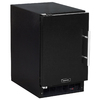 MARVEL 15-in 15 lb Capacity Freestanding Ice Maker (Black Cabinet and Black Door)