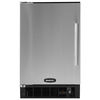 MARVEL 15-in 15 lb Capacity Freestanding Ice Maker (Black Cabinet and Stainless Steel Door)