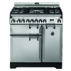 AGA Legacy 36-in 5-Burner 2.2-cu ft/1.8-cu ft Double Oven Convection Dual Fuel Range (Stainless Steel)