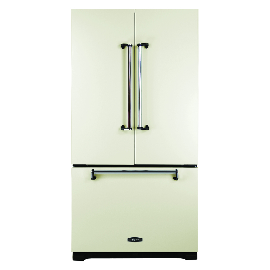 Shop aga legacy 19 6 cu ft counter depth french door for 19 6 cu ft french door refrigerator