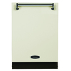 AGA Legacy 51-Decibel Built-In Dishwasher (Ivory) (Common: 24-in; Actual 23.875-in) ENERGY STAR