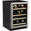 MARVEL 27-Bottle Stainless Steel Built-In/Freestanding Wine Chiller