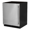 MARVEL ADA Height 4.6-cu ft Counter-Depth Built-In Compact Refrigerator (Stainless Steel) ENERGY STAR