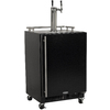 MARVEL Half-Barrel Black Digital Freestanding Kegerator