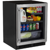 MARVEL 4.9-cu ft Stainless Steel Built-In/Freestanding Beverage Center