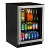 MARVEL 5.5-cu ft Stainless Steel Built-In/Freestanding Beverage Center