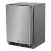 MARVEL Outdoor 5.3-cu ft Counter-Depth Built-In Compact Refrigerator (Stainless Steel)