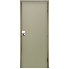 Shop Milliken Flush Prehung Entry Door Common 34 In X 80 In Actual 34 In