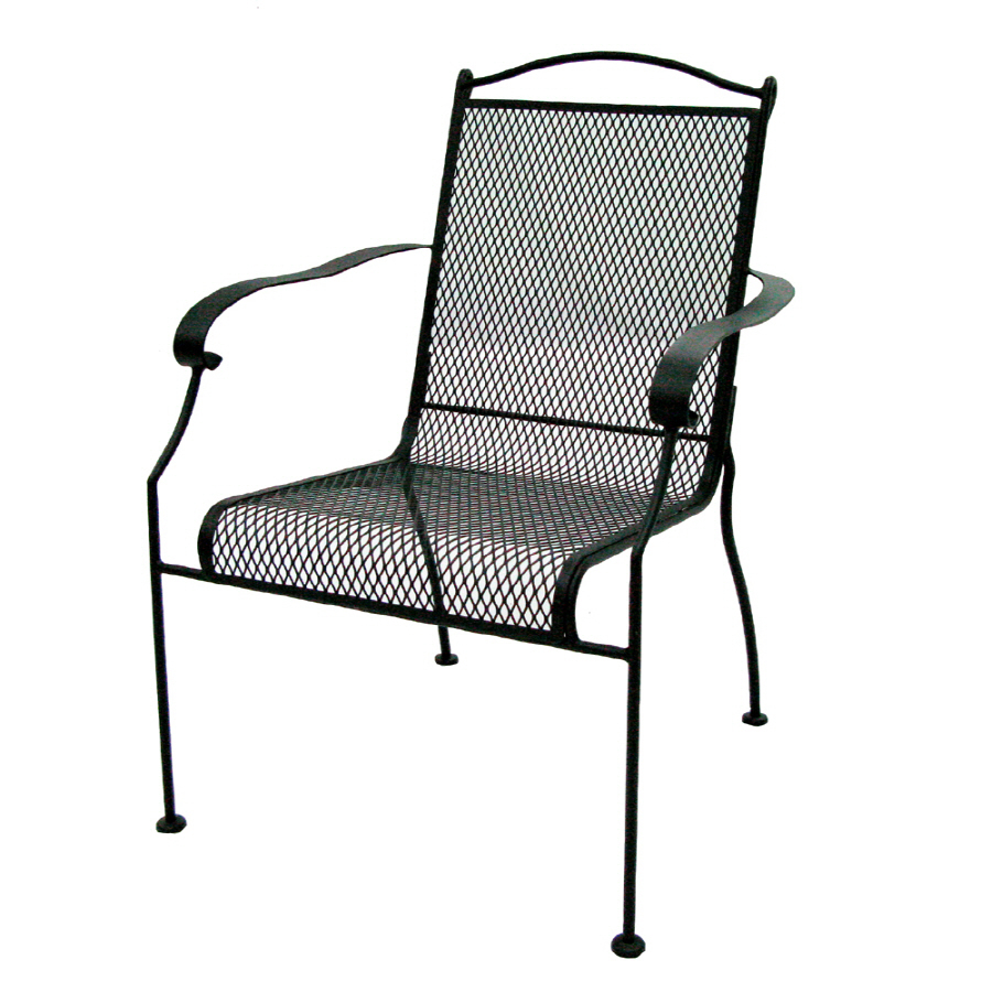 Mesh Patio Chairs Factory Direct Wholesale 5750 Black Mesh Patio Chair Set Of 4 Atg Stores