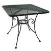 Garden Treasures Hanover 30-in x 30-in Steel Square Patio Dining Table