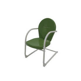 Garden Treasures Children's Green Retro Chair