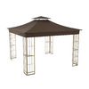 Shop Garden Treasures Brown Replacement Canopy Top at ...