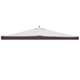 Shop Garden Treasures Brown Polyester Replacement Canopy