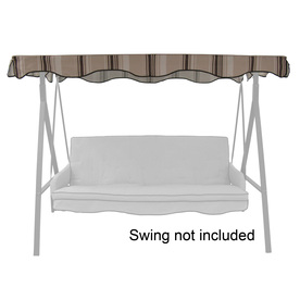 Superior Display Product Reviews For Tan/Brown Steel 3 Person Replacement Top For  Porch Swing