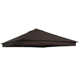 Shop Garden Treasures Brown Replacement Canopy Top At