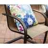 Garden Treasures Hayden Island 6-Count Brown Steel Patio Dining Chairs