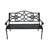 Garden Treasures 51-in L Aluminum Patio Bench