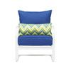 Garden Treasures Bluestone River Patio Conversation Chair