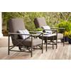 Garden Treasures Arrowhead Springs Patio Conversation Chair